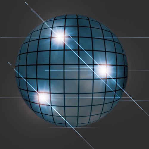 Фотошоп как сделать шар из