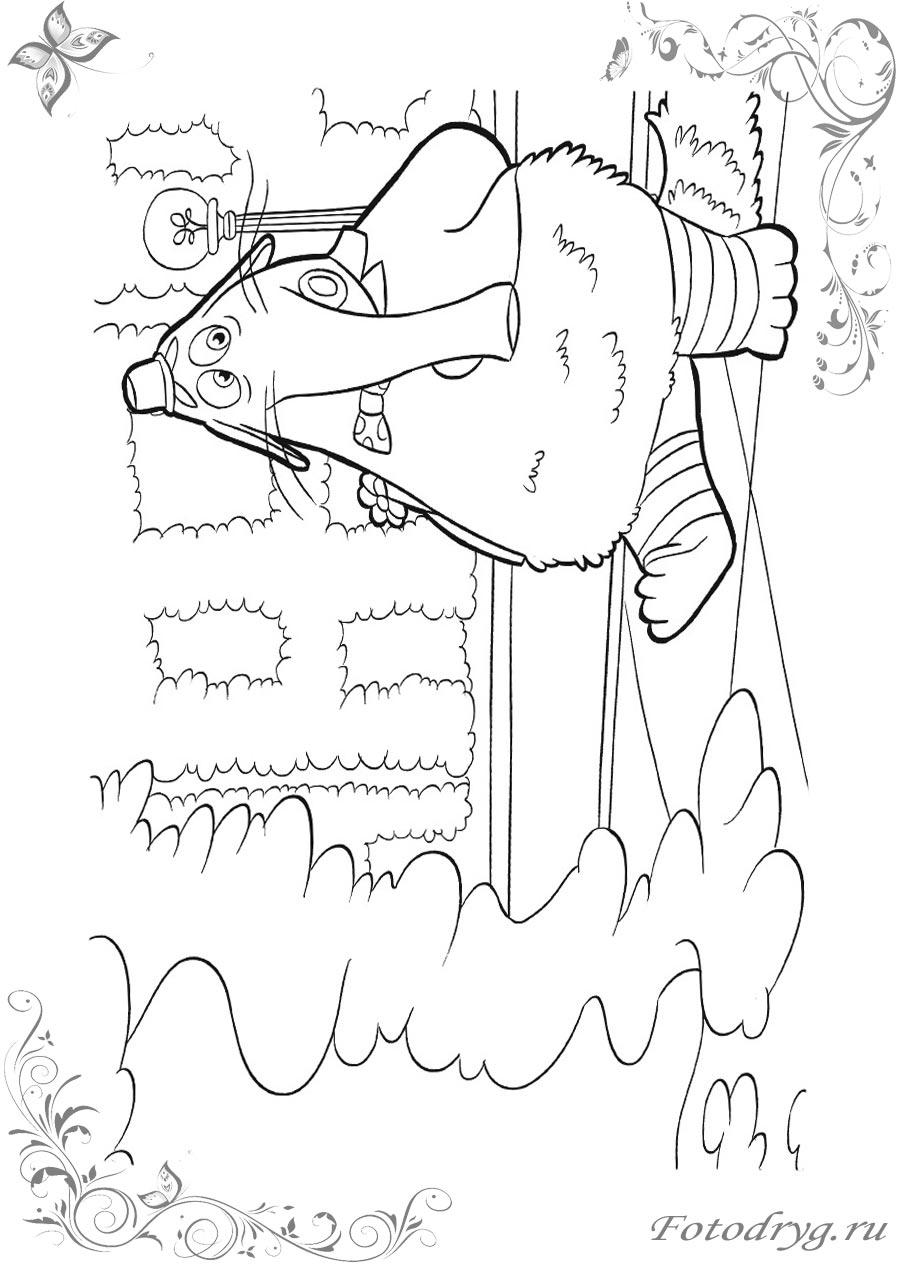Распечатать раскраски для девочек Головоломка на принтере